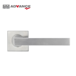Professional excellent push-pull stainless-steel bathroom glass door handle lever lock
