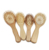 Color Customized 2018 Hot Round Boars Baby Wooden Natural Kids Care Wood Oval Hair Brush Rubber Pad