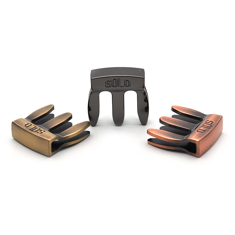 Full Metal High Quality Violin Mute for Practice for 3/4 and 4/4 Violin 3 Colours, Antique brass/gun colour/antique copper
