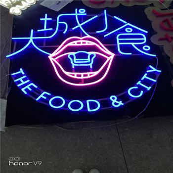 led commercial advertising custom made led sign board neon light letters neon sign for party light