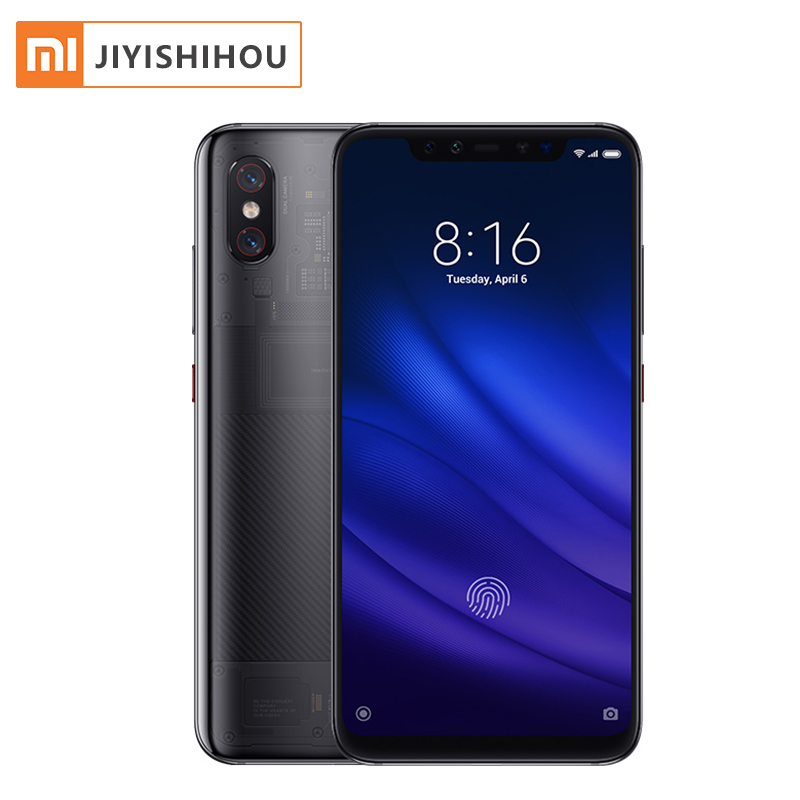 Global Version Xiaomi Mi 8 Pro 6.21 Inch 845 8GB 128GB Fingerprint Smartphone Snapdragon Xiaomi 8 Pro Smart Phone