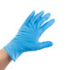 Disposable powder free medical blue nitrile examination gloves