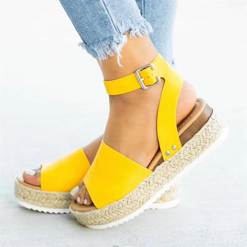 a269b2e4 Venta caliente deseo exy mujeres cuñas sandalias de cuña de alpargata  sandalias de plataforma