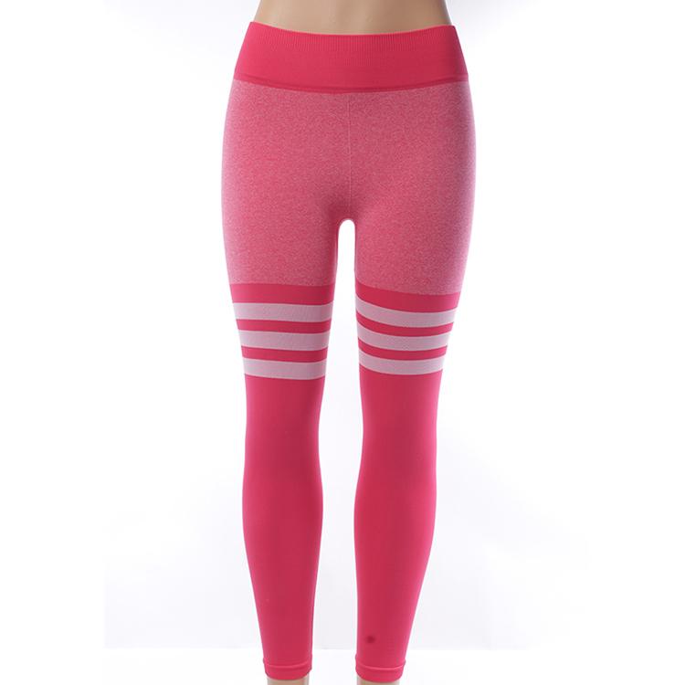 Good quality wholesale workout joggers pants womens sports seamless high waist leggings