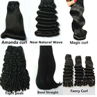 Super Double Drawn Human Hair 100% Top Quality Raw Unprocessed Vietnamese Hair, Wholesale Fast Shipping to Nigeria Lagos Hair