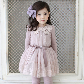 S32091w 2019 Spring Children Girls Lace Dresses Long Sleeve Beautiful Princess Party Dress Kids Baby Clothes Buy Baby Clotheskids Clothes And