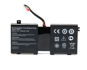 14.8V 5600Mah 86Wh 2F8K3 internal laptop battery for dell alienware 17 18 18x M17X R5 M18X R3 Series 2F8K3 0 2F8K3 KJ2PX 0KJ2PX