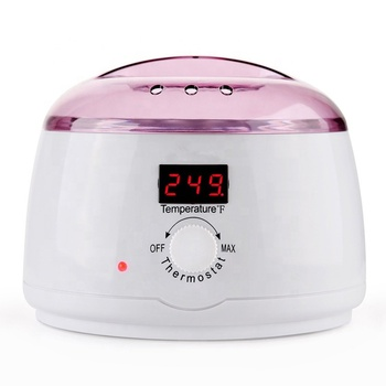 Pro wax 100 with digital LCD display for heating 500CC hair removal wax warmer melting pot wax heater