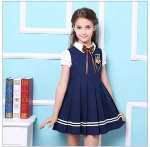 primary school uniform designs girl pinafore dress school kindergarten  uniform