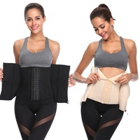 1d53212f8 Women Double Control Waist Trainer Corset Body Shaper Tummy Fat Burning for  Hourglass Waist Cinchers