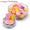 Best Sell high quality fruit shape semicircle gummy candy
