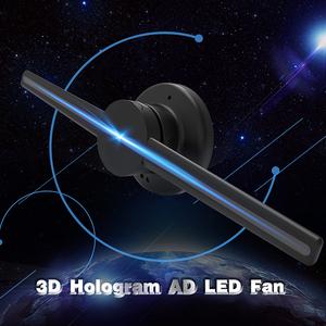 3d LED fan hologram 3D Hologram Advertising Display 3d Advertising Display  fan