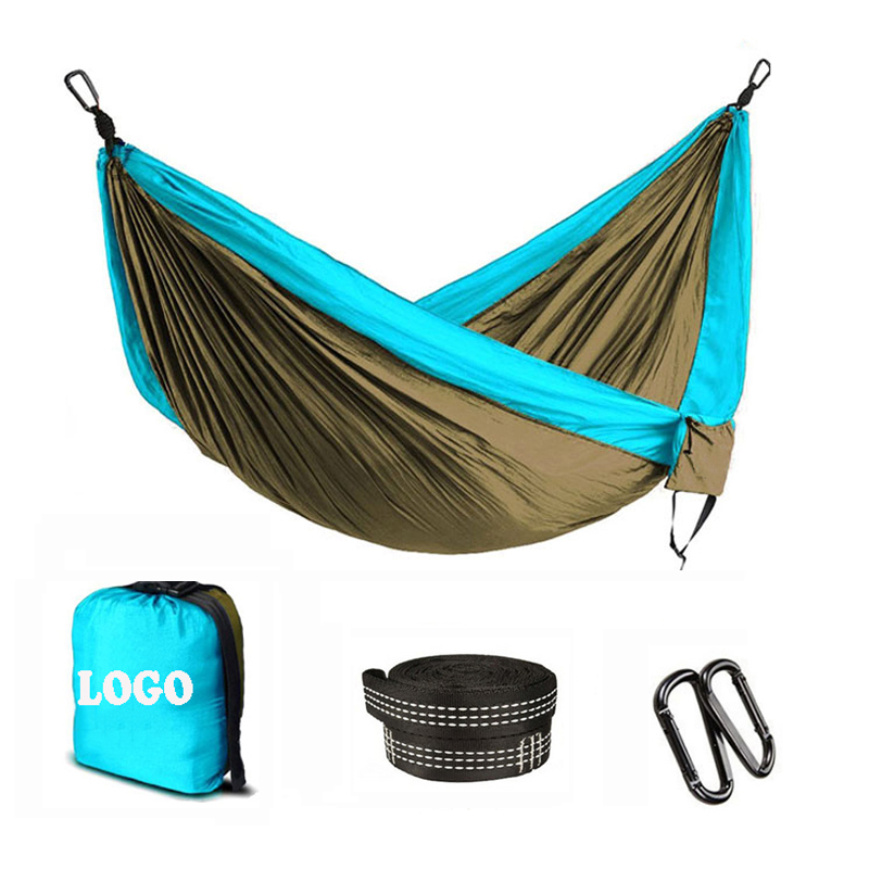 Summer Outdoor Garden Back Yard Travel Camping Colour Stripe Hammock Hang Bed