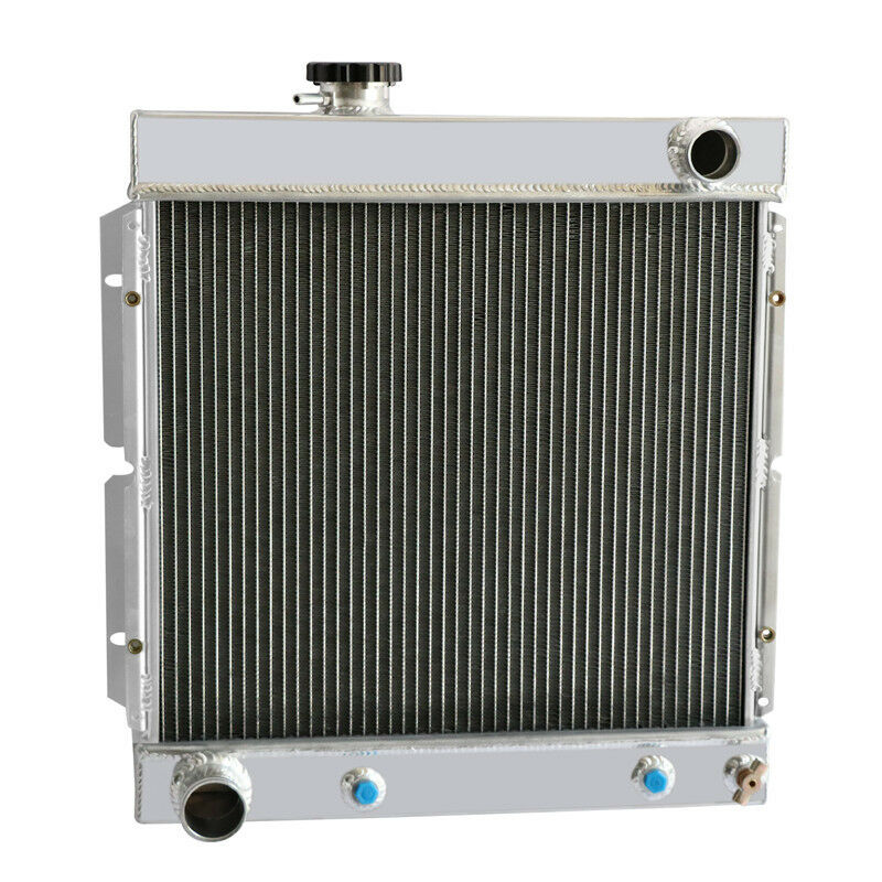 FOR 1964-1966 FORD MUSTANG V8 260 289 64 65 66 AT//MT ALUMINUM RADIATOR 3 ROW