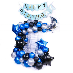 Royal Blue And Silver Party Decorations Royal Blue And Silver Party