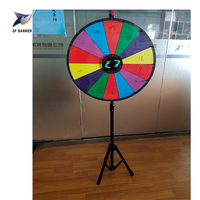 "Newly 24"" Prize Fortune Game Wheel Lucky Spin Wheel"