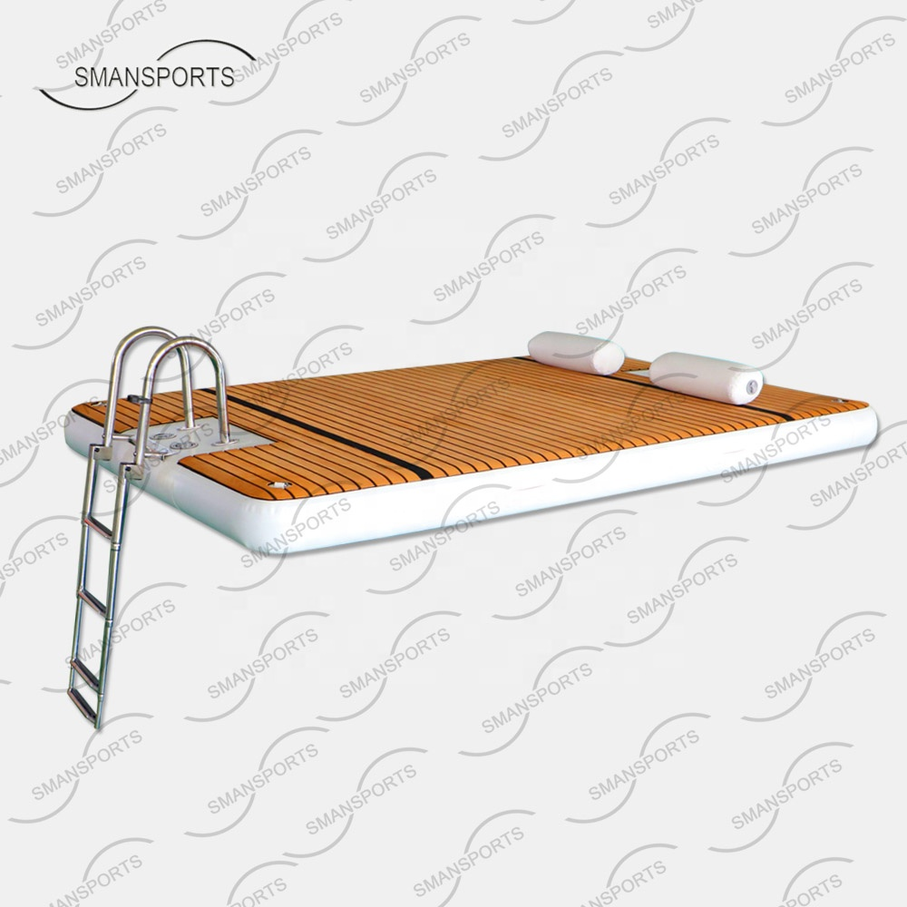 Leisure Land 322 น้ำ leisure lift jet ski dock สำหรับ lake with บันได