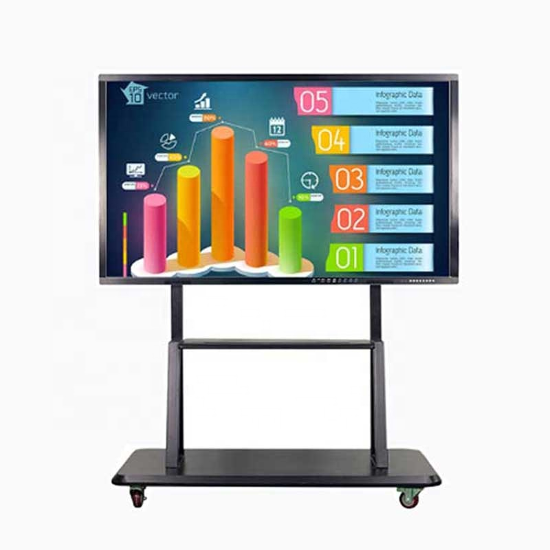 55 65 76 86 100 inch goedkope prijs draagbare interactieve touch screen smart tv monitor China interactieve whiteboard smart board