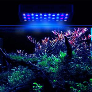 China supplier Dimmable full spectrum 165w hot sell led aquarium light 55x3 Watt Coral Reef Marine