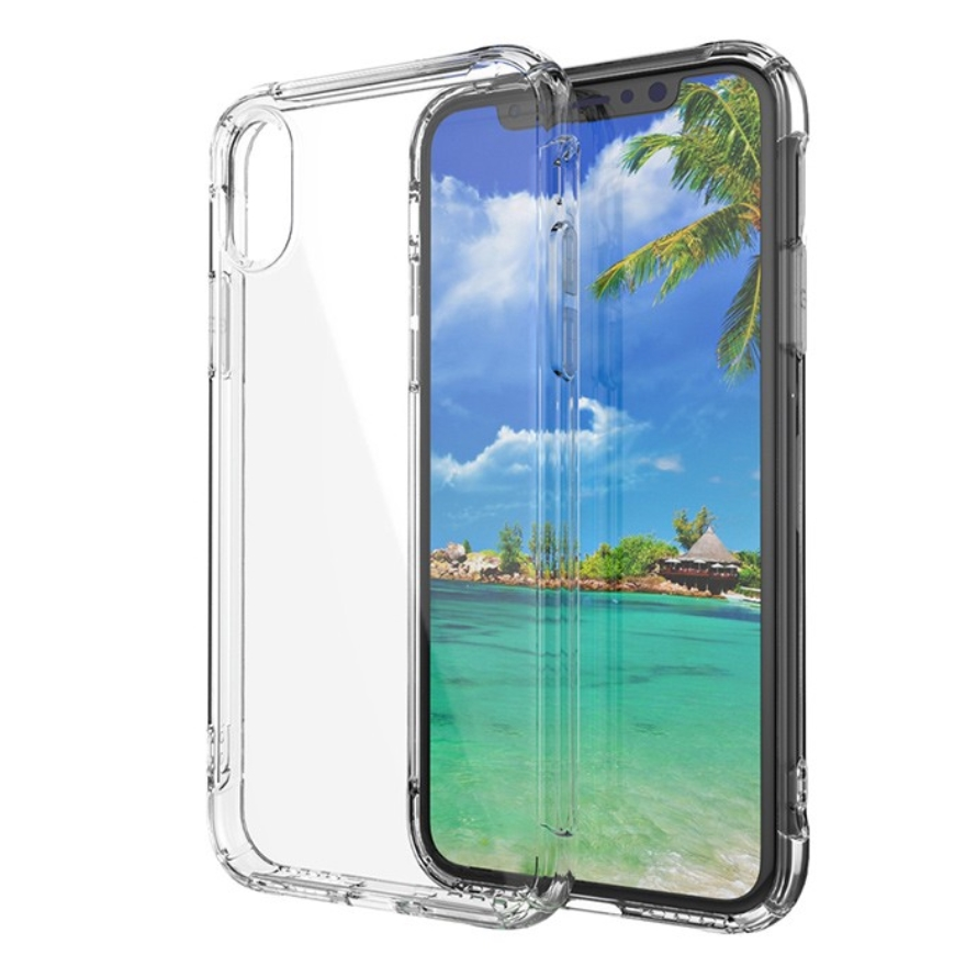 Guangzhou Best Sellers Luxury Transparent Mobile Soft TPU Case Cell Phone Back Cover For Iphone x case фото