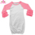 Baby Clothes Newborn Sleep Gowns Unicorn & Rainbow Icing Ruffle Sleeve Raglan Infant Baby Gown