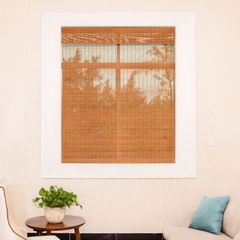 New style chinese roll up woven roman bamboo blind roller blind
