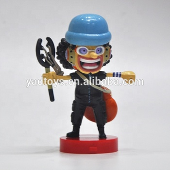 Wholesale Custom made best home decoration gift and car set one piece Usopp action figure set