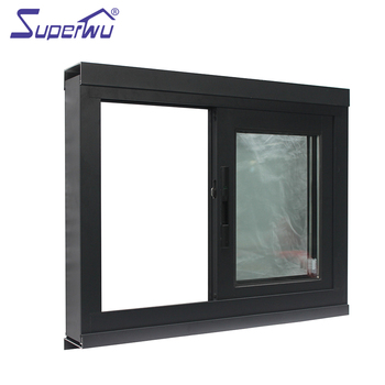 Fashion Sliding Motor Window Proof Aluminum Price Interior