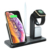 10W fast wireless charger N35 detachable 3 in 1 wireless fast charger phone holder wireless charger with CE,FCC,ROHS Certificate