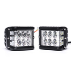 Car Mini 9 Inch 12v 24v 36w Square Led Flood Work Light for Motorcycle Truck Tractor Off Road