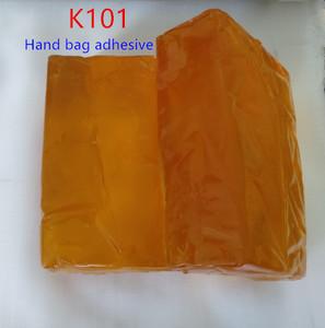 Pressure sensitive hand bag usage hot melt adhesive