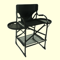 Foldable Lightweight Vanity Portable Makeup Chairs For Professionals Salon Artists