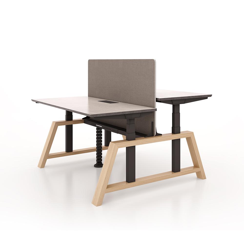 Electric Height Adjustable Desk Sit Stand Up Office Table Design Simple Adjustable Standing Desk