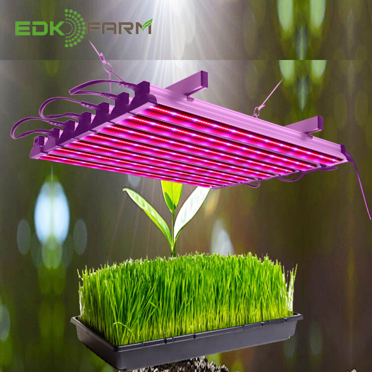 Indoor Hydroponic Greenhouse Aquaponic System Full Spectrum Plant Lamp Bulb Strip Led Grow Light for Microgreens Lettuce