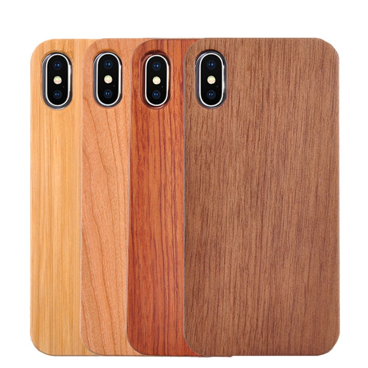high quality blank natural wood mobile cell phone <strong>case</strong> back cover for iphone 6 7 8 plus