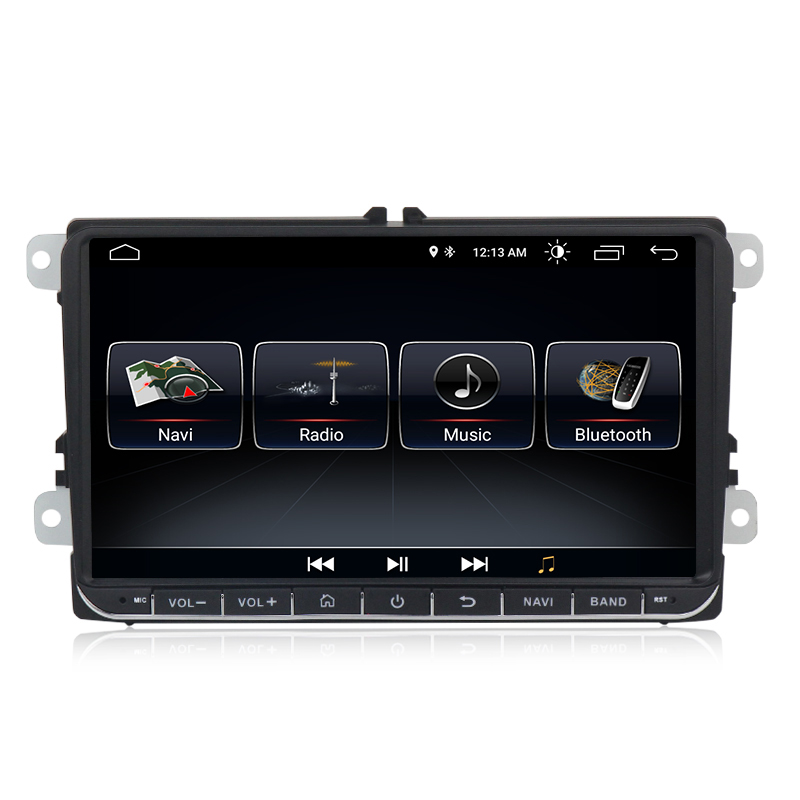 MEKEDE Android 9.0 quad core car dvd <strong>player</strong> for VW SKODA GOLF 5 Golf 6 POLO PASSAT B5 B6 wifi gps radio mirrorring Navigation