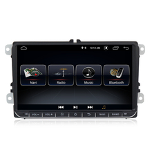 Mekede Android 9.0 Quad Core Car <span class=keywords><strong>DVD</strong></span> Player untuk VW Skoda Golf 5 Golf 6 POLO Passat B5 B6 Wifi GPS Radio Mirrorring Navigasi