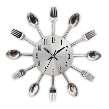 Moderne Küche Wanduhr Splitter Besteck Uhren Löffel Gabel Kreative  Wohnkultur Kunst Uhr - Buy Löffel Gabel Uhr,Küche Wanduhr,Besteck Wanduhren  Product ...
