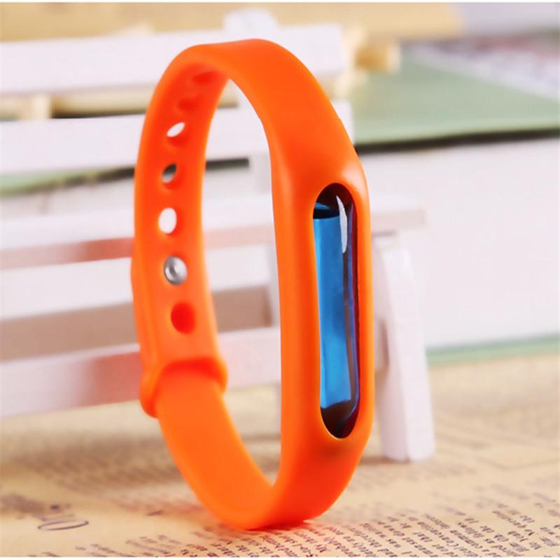 Силиконовый браслет для отпугивания насекомых Wristband в Электростали