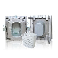 china plastics injection molds for sale,plastic mould company,Precise Design Shopping basket mould