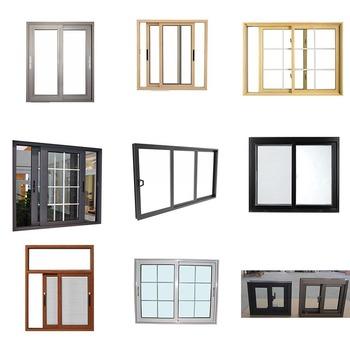 New Design Ce As2047 Kitchen Aluminium Frame Sliding Window Aluminum Alloy Profile