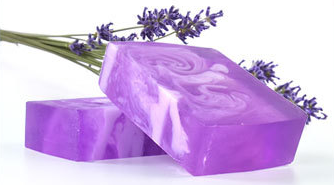 OEM ODM Effectively Nutritional Moisturizing 100% Nature acne soap skin care Lavende Handmade Soap