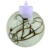 2019 New Wholesale Home decoration glass candle holder round shape clear glass candle holder  glass cloche candle holder