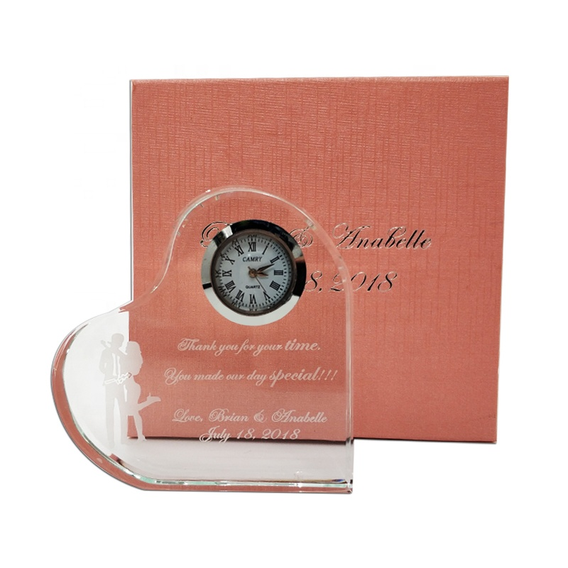 Custom Heart Shaped Crystal Clock Wedding Gifts For Guests Souvenirs Buy Wedding Souvenirs Wedding Gifts For Guests Souvenirs Wedding Souvenirs Crystal Product On Alibaba Com