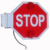 Road traffic signs and meanings aluminum LED flashing light stop arm