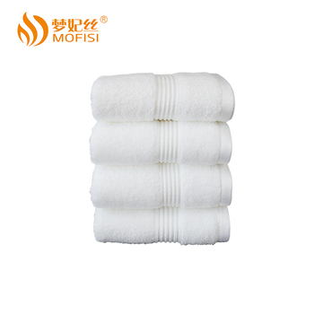 Wholesale high quality dobby cotton hand towels