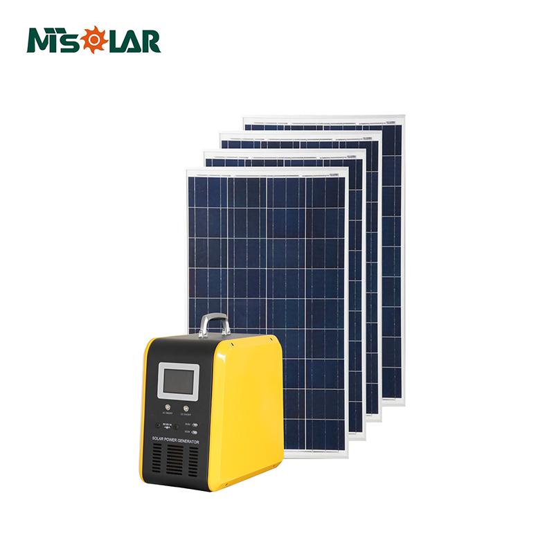 1kw Home Solar Power Station,Mini Solar Power Plant Solar Energy System  Price/solar Panels In Pakistan Karachi - Buy Mobile Home Solar Panel