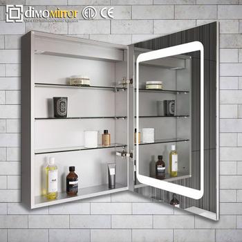 Chine Fabrication Mur Montage Led Salle De Bain Miroir Armoire A Pharmacie Buy Armoire A Pharmacie De Salle De Bains Led Eclairage Salle De Bain