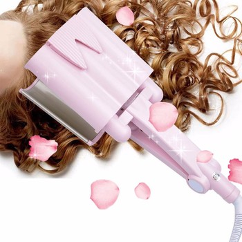 220V Portable Wave Hair Curling Iron Hair Curler Automatic LCD 26-32cm Hair Waver Curler Tool