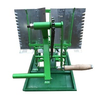 manual Portable Rice Planter Hand Cranked Rice Transplanter